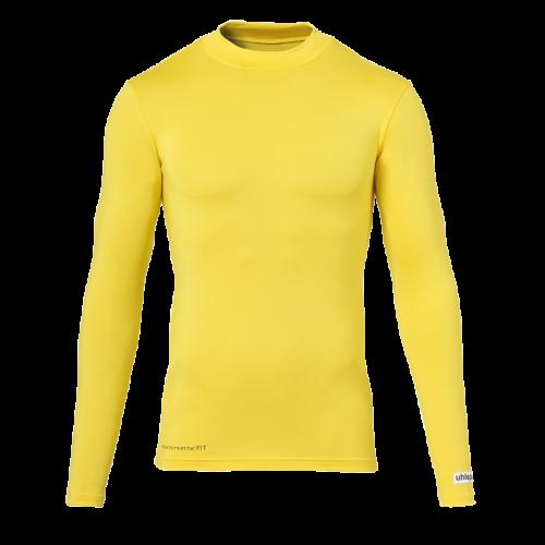 uhlsport Baselayer shirt LS amarillo maiz UHLSPORT