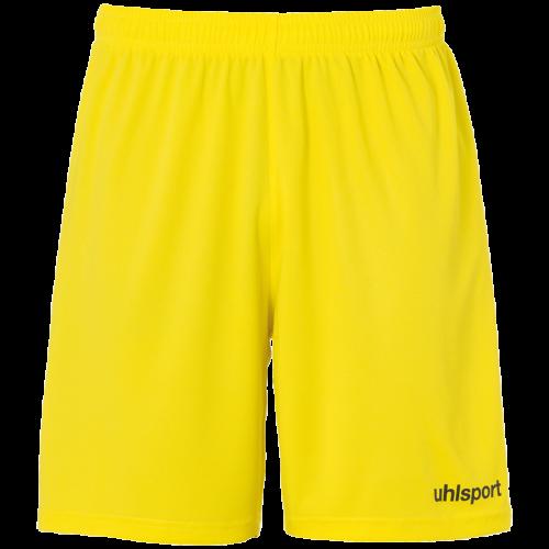 CENTER BASIC SHORTS OHNE INNENSLIP yellow UHLSPORT