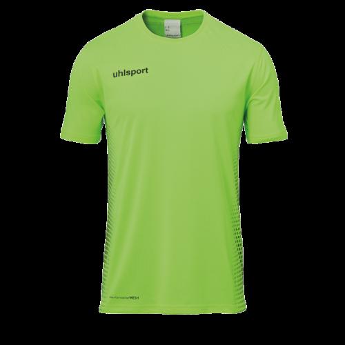 SCORE KIT SS verde fluor/negro UHLSPORT