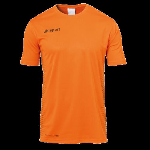 SCORE KIT SS naranja fluor/negro UHLSPORT