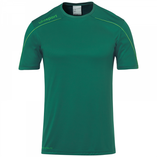 STREAM 22 SHIRT SHORTSLEEVED VERDE UHLSPORT