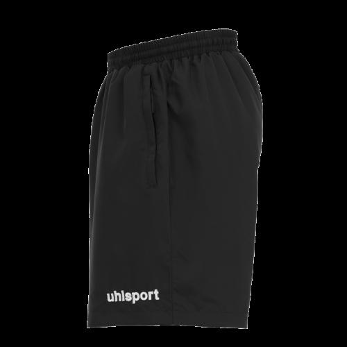 ESSENTIAL Shorts tejido negro UHLSPORT