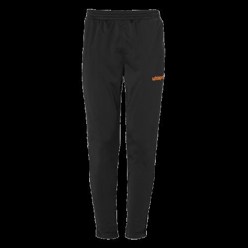 SCORE TRACK PANTS negro/naranja fluor UHLSPORT