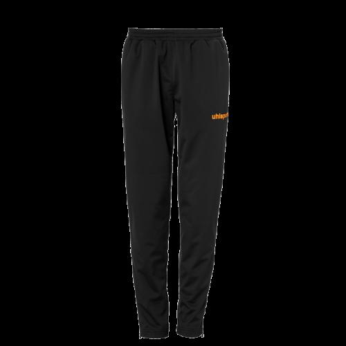 SCORE CLASSIC PANTS negro/naranja fluor UHLSPORT