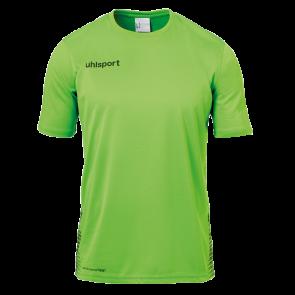SCORE TRAINING T-SHIRT verde fluor/negro UHLSPORT