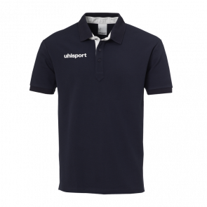ESSENTIAL PRIME POLO SHIRT negro/blanco UHLSPORT