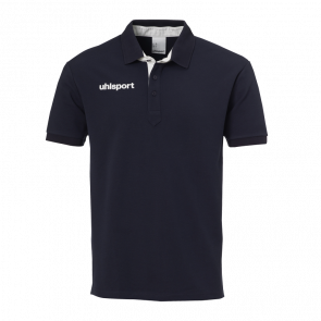 ESSENTIAL PRIME POLO SHIRT azul marino/blanco UHLSPORT