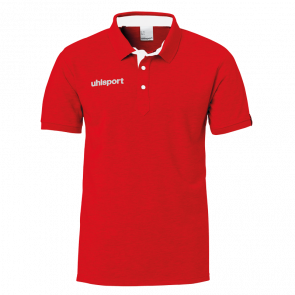 ESSENTIAL PRIME POLO SHIRT rojo UHLSPORT