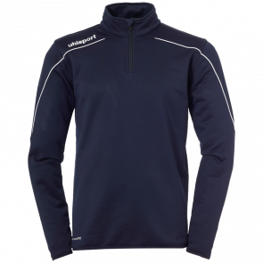STREAM 22 1/4 ZIP TOP blue UHLSPORT