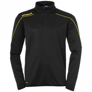 STREAM 22 1/4 ZIP TOP black UHLSPORT