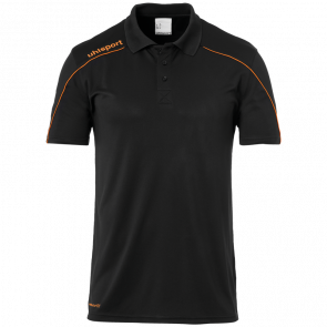 STREAM 22 POLO SHIRT black UHLSPORT