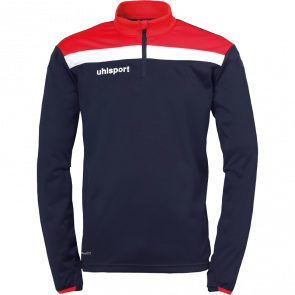 OFFENSE 23 1/4 ZIP TOP azul marino/rojo/blanco UHLSPORT