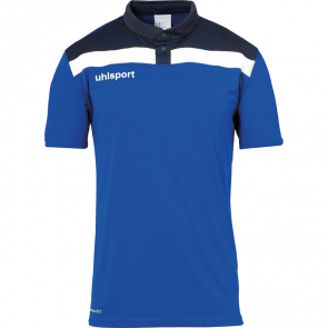 OFFENSE 23 POLO SHIRT azur/azul marino/blanco UHLSPORT