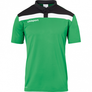 OFFENSE 23 POLO SHIRT verde/negro/blanco UHLSPORT