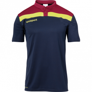 OFFENSE 23 POLO SHIRT azul marino/burdeos/amari UHLSPORT