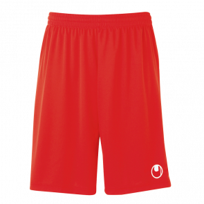 CENTER BASIC II Shorts without slip rojo UHLSPORT