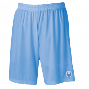 CENTER BASIC II Shorts without slip celeste UHLSPORT