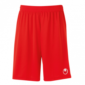 CENTER II Shorts with slip inside rojo UHLSPORT