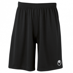 CENTER II Shorts with slip inside negro UHLSPORT
