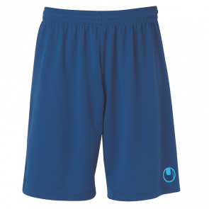 CENTER II Shorts with slip inside azul marino 14/celeste UHLSPORT