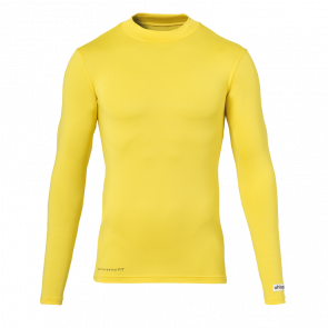 uhlsport Baselayer shirt LS amarillo maiz UHLSPORT