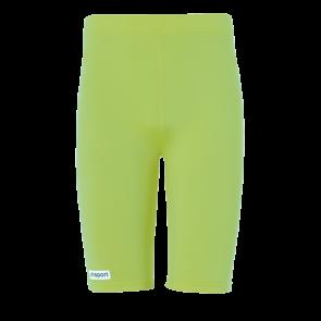 TIGHT Shorts verde flash UHLSPORT