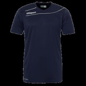 STREAM 3.0 Camiseta MC azul marino/blanco UHLSPORT