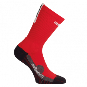 TUBE IT SOCKS rojo/blanco UHLSPORT