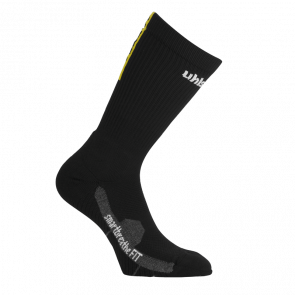 TUBE IT SOCKS negro/lima amarillo UHLSPORT