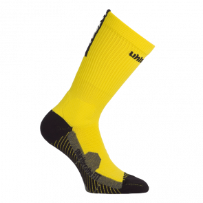 TUBE IT SOCKS lima amarillo/negro UHLSPORT