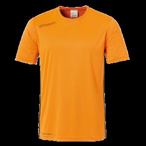 ESSENTIAL CAMISETA MC naranja fluor/negro UHLSPORT