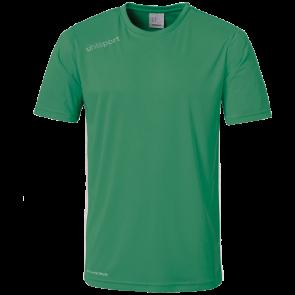 ESSENTIAL SHIRT SS verde/blanco UHLSPORT