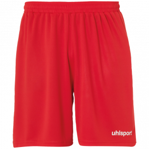 CENTER BASIC SHORTS WITHOUT SLIP red UHLSPORT