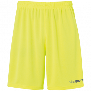 CENTER BASIC SHORTS OHNE INNENSLIP yellow UHLSPORT
