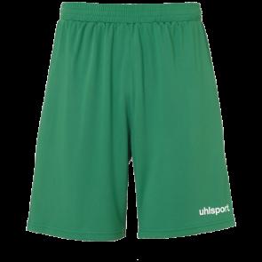 CENTER BASIC SHORTS WITHOUT SLIP verde/blanco UHLSPORT