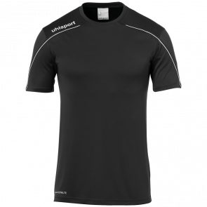 STREAM 22 SHIRT SHORTSLEEVED black UHLSPORT