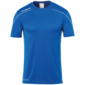 STREAM 22 SHIRT SHORTSLEEVED blue UHLSPORT