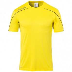 STREAM 22 SHIRT SHORTSLEEVED yellow UHLSPORT