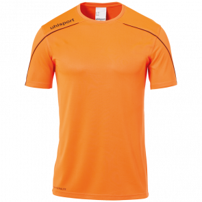 STREAM 22 SHIRT SHORTSLEEVED orange UHLSPORT