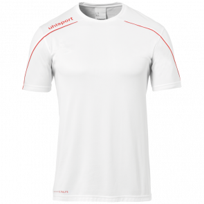 STREAM 22 SHIRT SHORTSLEEVED white UHLSPORT