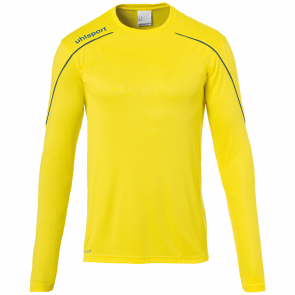 STREAM 22 TRIKOT LANGARM yellow UHLSPORT