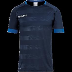 DIVISION II SHIRT SHORTSLEEVED azul marino/azur UHLSPORT