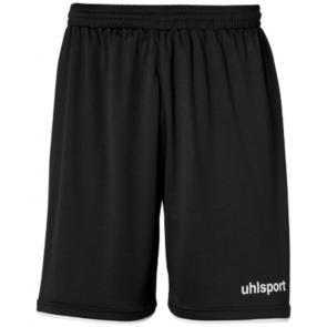 CLUB SHORTS negro/blanco UHLSPORT