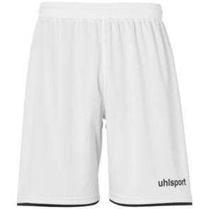 CLUB SHORTS blanco/negro UHLSPORT