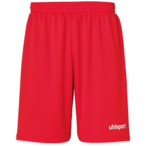 CLUB SHORTS rojo/blanco UHLSPORT