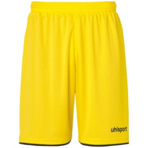 CLUB SHORTS lima amarillo/negro UHLSPORT