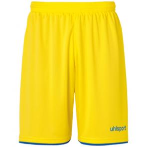 CLUB SHORTS lima amarillo/azur UHLSPORT