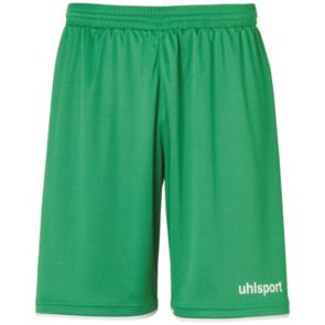 CLUB SHORTS verde/blanco UHLSPORT