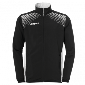 GOAL PRESENTATION JACKET negro/blanco UHLSPORT