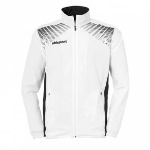 GOAL PRESENTATION JACKET blanco/negro UHLSPORT